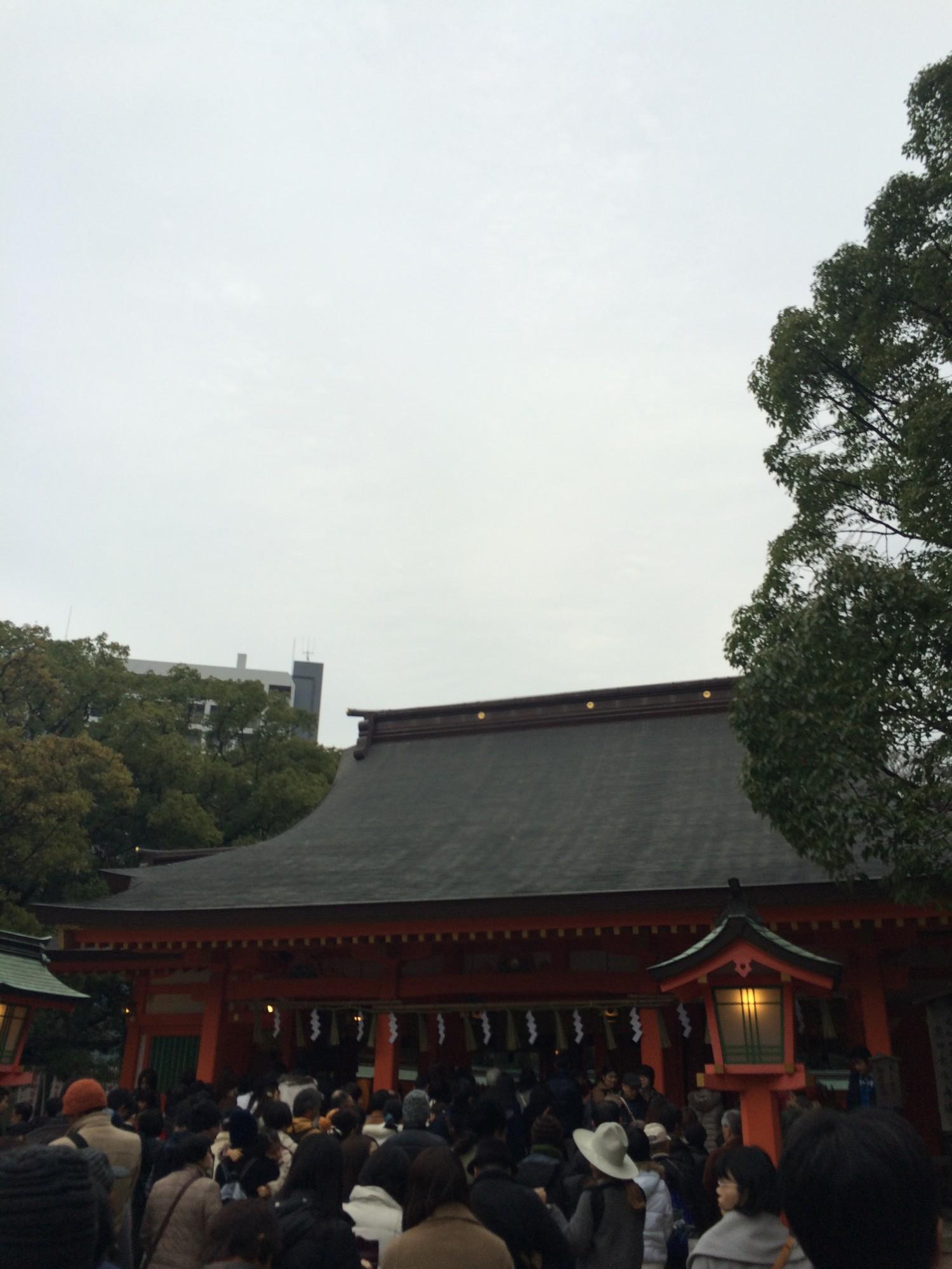 住吉神社(福岡市)の駐車場