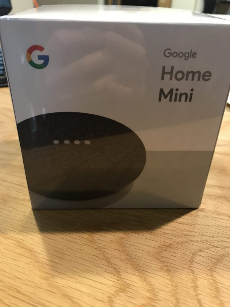 GoogleHomeミニが来た
