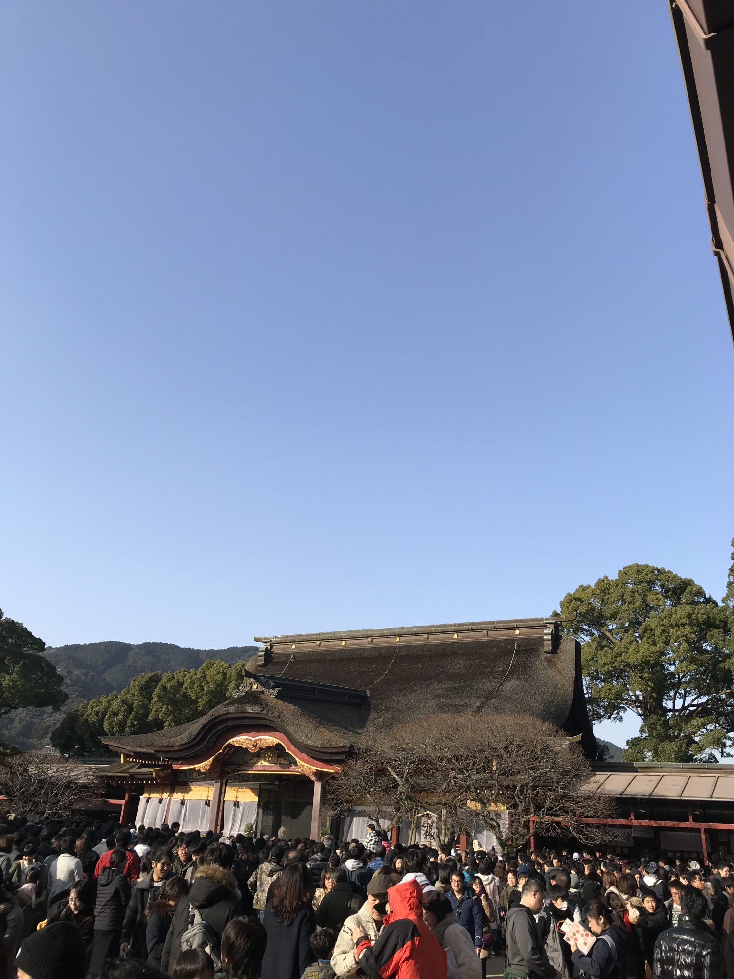 お正月の九州国立博物館